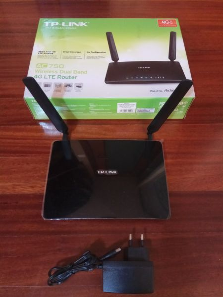 Router 4G Inalambrico de Doble Banda