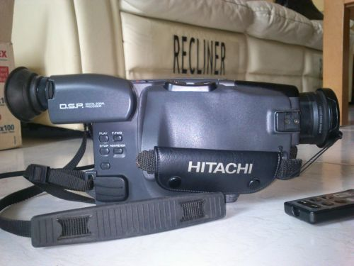 Videocamara Hitachi VM-E54E PAL 8mm