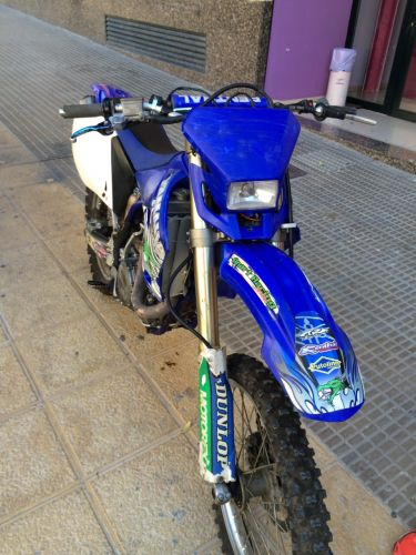 Yamaha enduro cross 450 yzr
