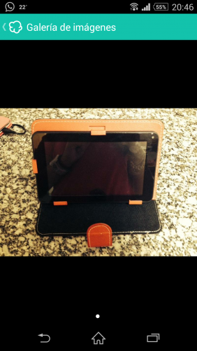 Tablet android woxter + regalo