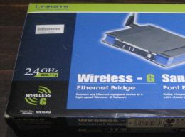 Linksys wet54g puente ethernet wifi