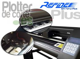 Plotter de corte refine eh721 u plus barato version mejorada 63cm