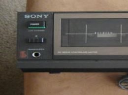 Pletina simple sony tc-fx220 para equipo hifi