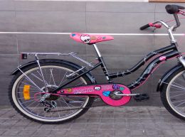Bici Monster High como Nueva