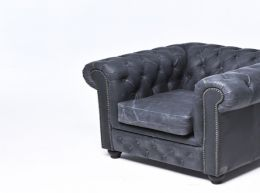 Sillón chester vintage -auténtic chesterfield brand-hecho a mano