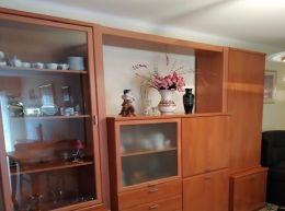 Mueble comedor pared